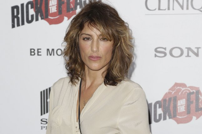 Jennifer Esposito arrives on the red carpet at the New York premiere of Ricki and the Flash on August 3, 2015. File Photo by John Angelillo/UPI