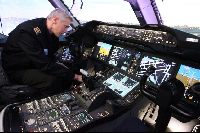 The career of the airline pilot has lost its luster. File Photo by Bill Greenblatt/UPI