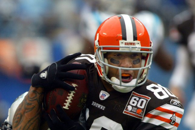 The former Cleveland Browns tight end, Kellen Winslow II will be retried on eight counts related to four cases. File Photo by Nell Redmond/UPI