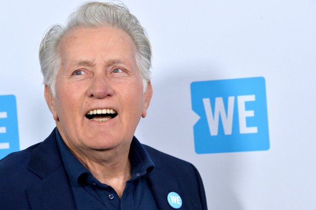 Martin Sheen arrives for We Day California at The Forum in Inglewood, Calif., on April 19, 2018. The actor turns 80 on August 3. File Photo by Jim Ruymen/UPI