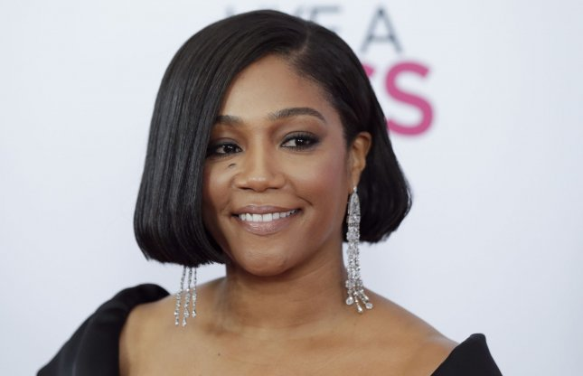 Tiffany Haddish will appear in this year's edition of Shark Week on Discovery. File Photo by John Angelillo/UPI
