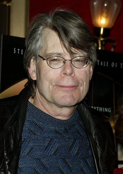 Stephen King arrives for the premiere of The Mist at the Ziegfeld Theater in New York on November 12, 2007. (UPI Photo/Laura Cavanaugh)