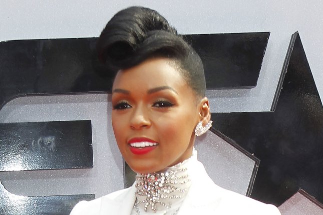 Recording artist Janelle Monae attends the BET Awards 13 at the Nokia Theatre in Los Angeles on June 30, 2013. UPI/Alex Gallardo