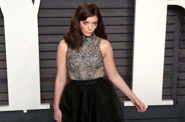 Lorde attends the Vanity Fair Oscar party on February 28, 2016. The singer will promote her album Melodrama in Europe, New Zealand and Australia. File Photo by David Silpa/UPI
