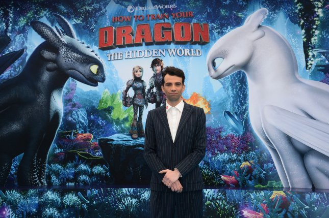 Cast member Jay Baruchel, the voice of Hiccup in How to Train Your Dragon: The Hidden World, arrives for the premiere of the film in Los Angeles on February 9. Photo by Jim Ruymen/UPI
