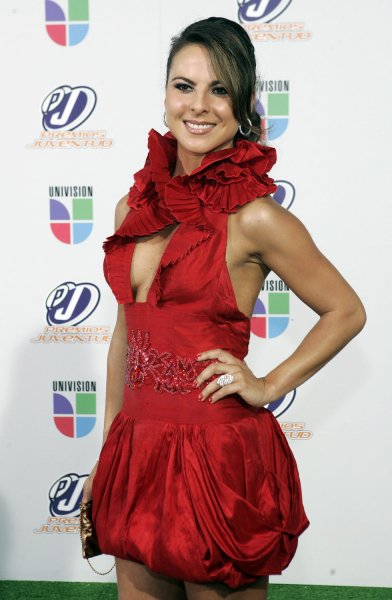 Kate Del Castillo arrives for the 2008 Premios Juventud Awards at the University of Miami BankUnited Center in Coral Gables, Florida on July 17, 2008. (UPI Photo/Michael Bush)