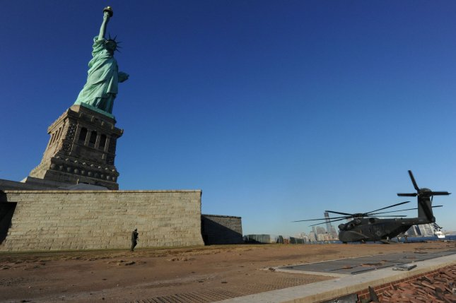 The Statue of Liberty (File/UPI/Terah L. Mollise/Navy)