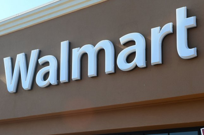 A Walmart store (File/UPI/Jim Ruymen)