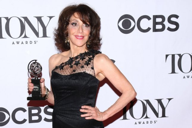 Andrea Martin, winner of the Tony Award for Best Performance by an Actress in a Featured Role in a Musical for 'Pippin,' arrives in the press room at the 67th Annual Tony Awards held at Radio City Music Hall on June 9, 2013 in New York City. UPI/Monika Graff