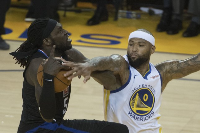 save off 4c0a4 e36fd Warriors confirm Demarcus Cousins has torn left quad - UPI.com
