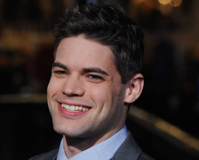 Jeremy Jordan, a cast member in the motion picture musical comedy Joyful Noise, attends the premiere of the film at Grauman's Chhinese Theatre in the Hollywood section of Los Angeles on January 9, 2012. UPI/Jim Ruymen