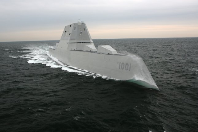 The Navy's next generation destroyer and second of the Zumwalt class, the future USS Michael Monsoor, is set to be commissioned this Saturday in San Diego. Photo courtesy of Bath Iron Works/U.S. Navy
