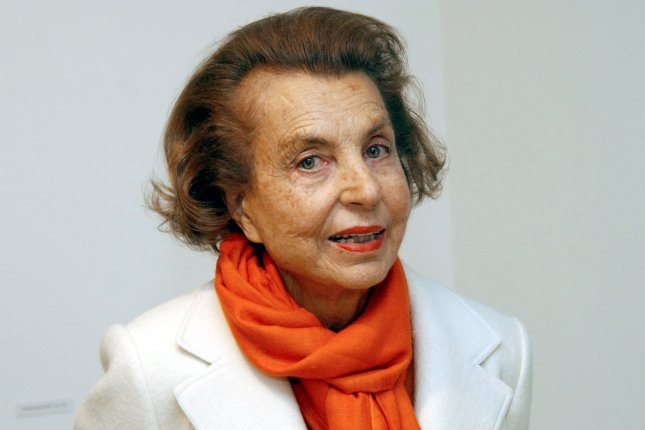 French businesswoman Liliane Bettencourt, pictured here in Krefeld, Germany, on June 13, 2004, died Wednesday at her home near Paris. File Photo by Horst Ossinger/EPA
