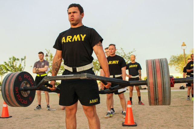 U S  Army to introduce new physical fitness test - UPI com