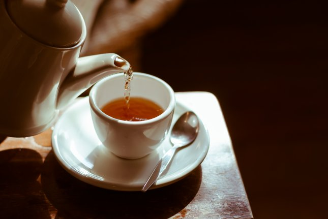 New research shows daily tea, as well as coffee, can reduce the risk for a second heart attack or stroke. File Photo by Wiro Klyngz/Shutterstock