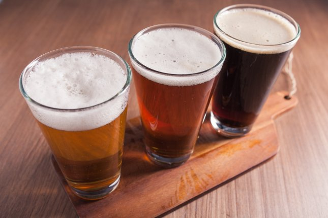 Waste product from beer production -- the remains of wheat, barley, rye and other grains used to brew the beverage -- can be repurposed into food protein sources and biofuels, according to new research. File Photo by Ramon L. Farinos/Shutterstock.com