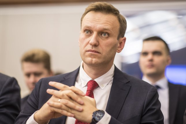 The government designation is the latest accusation opposition leader and activist Alexei Navalny has faced in the past few months, during which he has been jailed and had his home and offices raided. Photo by Evgeny Feldman/EPA-EFE