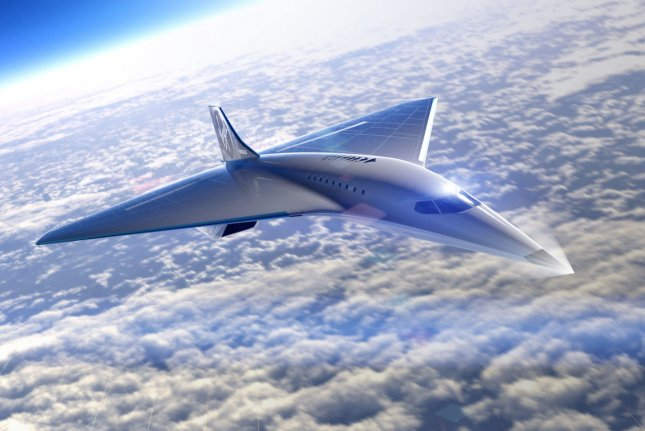 Virgin Galactic's supersonic aircraft would be capable of cruising at 60,000 feet on the edge of space, the company said. Illustration courtesy Virgin Galactic