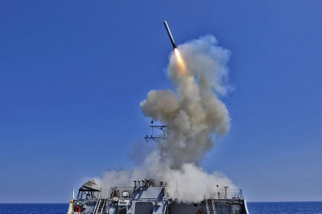 Legislators on Tuesday objected to a proposal by the acting Secretary of the Navy to cancel development of a nuclear sea-launched cruise missile, which could be carried by submarines or surface vessels like the USS Barry, pictured. Photo by Petty Officer 3rd Class Jonathan Sunderman/U.S. Navy