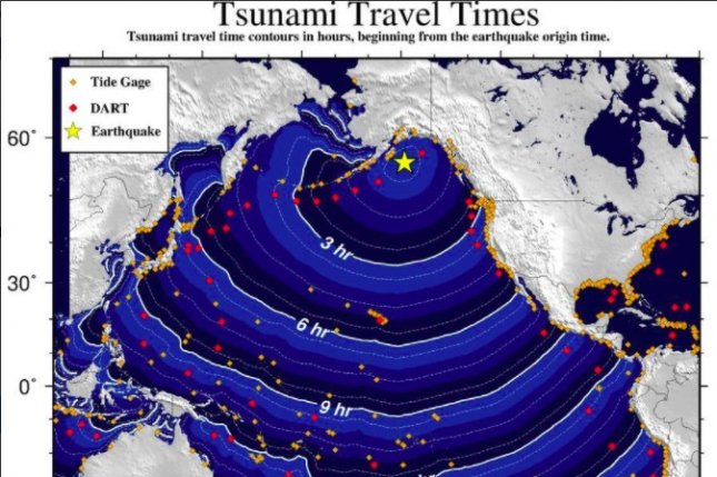 12:38 UTC 2018 event picture on Tuesday. Photo courtesy of NWS Tsunami Alerts/Twitter