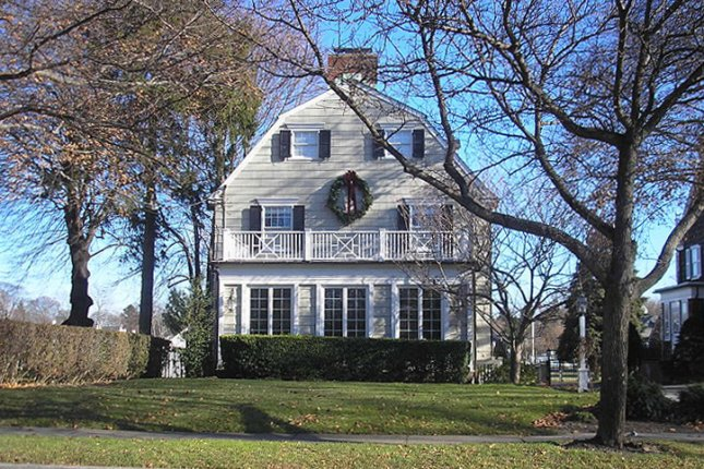 The Amityville, N.Y., house in which Ronald DeFeo Jr., killed six members of his family is pictured in 2005. Photo by Seulatr/Wikimedia Commons/UPI