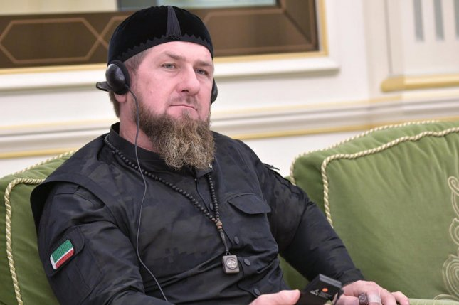 Chechen President Ramzan Kadyrov, pictured at a ceremony in Riyadh, Saudi Arabia, in 2019, has been hospitalized with suspected COVID-19, according to semi-official Russian media. File photo by Alexey Nikolsky/EPA-EFE