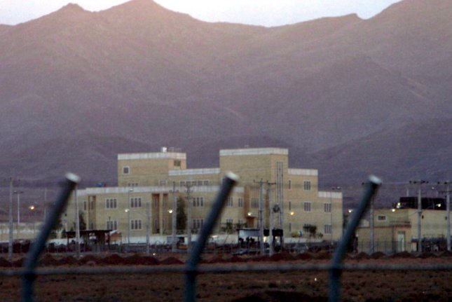 A view of the nuclear enrichment plant at Natanz, Iran, on November 18, 2005. Iranian intelligence Saturday named Reza Karimi as the alleged perpetrator behind last week's explosion at the plant. File photo by Abedin Taherkenareh/EPA-EFE