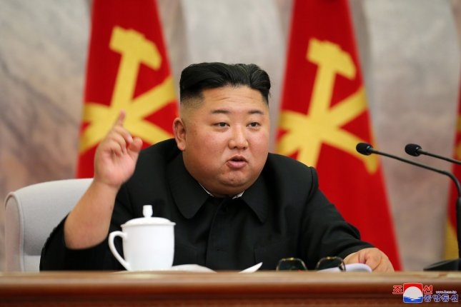 North Korean leader Kim Jong Un criticized officials responsible for the construction of a flagship hospital and ordered their removal, state media reported on Monday. File Photo by EPA-EFE/KCNA
