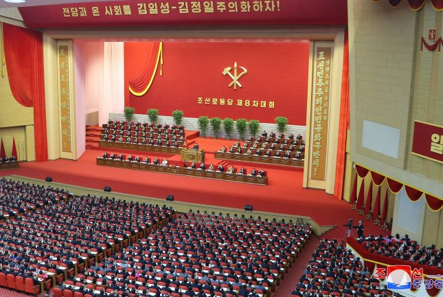North Korean expenditures for its annual budget increased at a lower rate than in 2020 after the 14th Supreme People's Assembly on Sunday, according to South Korean government analysis. File Photo by KCNA/EPA-EFE