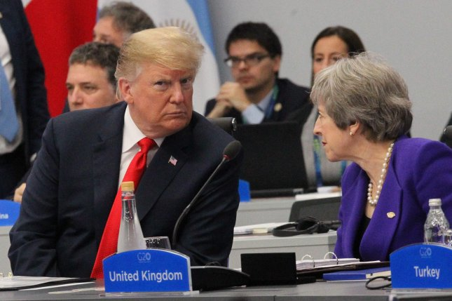 President Donald Trump accused British intelligence of wiretapping his campaign at Trump Tower in 2016. British intelligence denies any involvement. File Photo by Aitor Pereira/EPA-EFE
