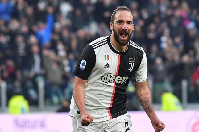 Gonzalo Higuain Joined Inter Miami Friday after he had played at Juventus since 2016. Photo by Alessandro Di Marco/EPA-EFE