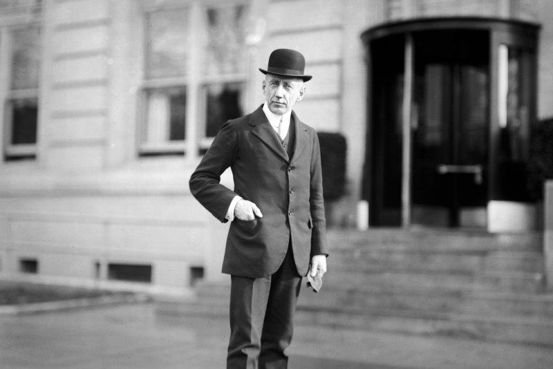 Capt. Roald Amundsen in Washington, DC ca. 1913. File Photo by Library of Congress/UPI