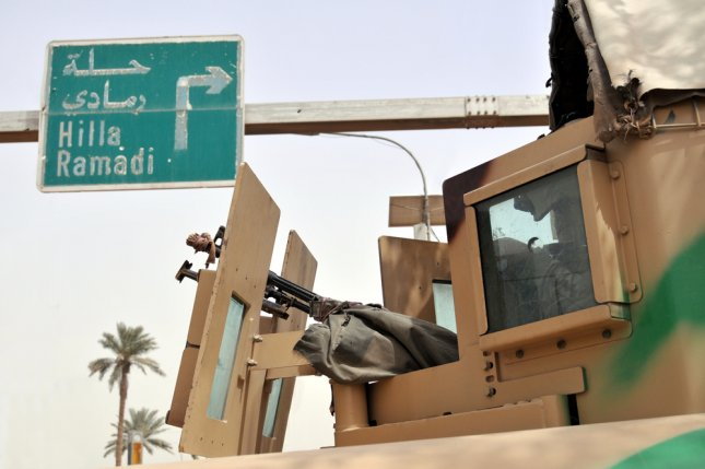 Iraqi officials said Tuesday security forces completely recaptured the city of Ramadi and had reopened a road leading to Baghdad following weeks of operations to mop up Islamic State militants in districts to the east. Photo by Frontpage/Shutterstock