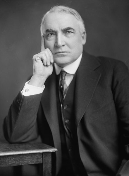 On November 2, 1920, in the first significant news broadcast, KDKA in Pittsburgh reported Warren G. Harding's win over James Cox in the presidential election. Photo courtesy the Library of Congress