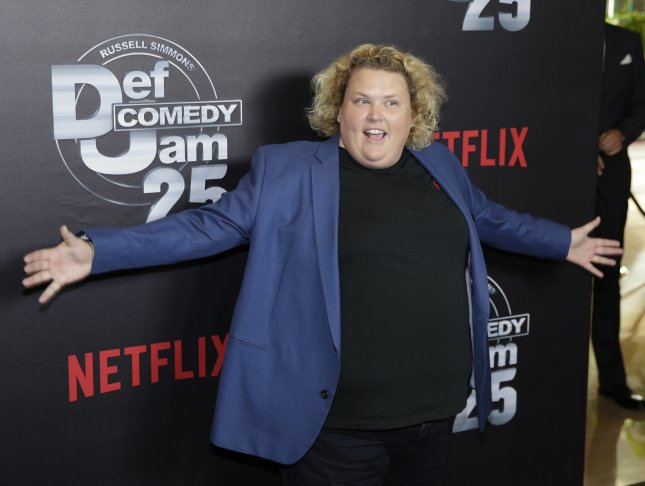Fortune Feimster married her longtime girlfriend Smith in Malibu this weekend. File Photo by Mike Nelson/EPA-EFE