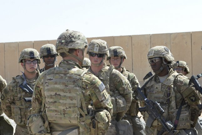 The United States and Iraq said in a joint statement Wednesday that they plan to shift the presence of U.S. troops in Iraq to a mission focused on training and advisory tasks. FilePhoto by Capt. Ryan E. Alvis/USMC/UPI