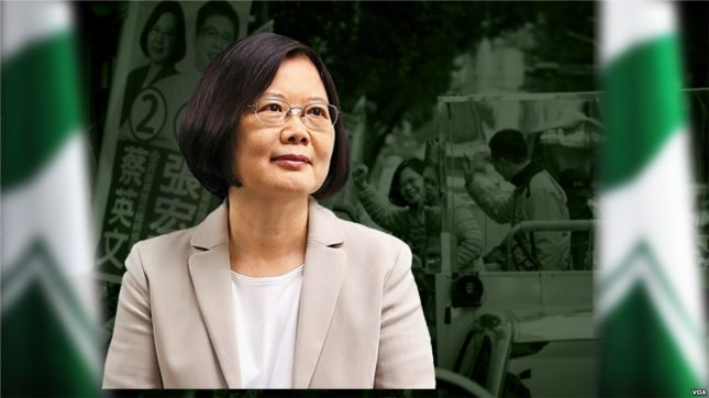 Tsai Ing-wen, president-elect of Taiwan. Photo courtesy of Voice of America