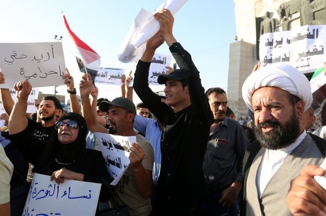Protesters gather at Iraq's Siba gas field-police as unrest grows