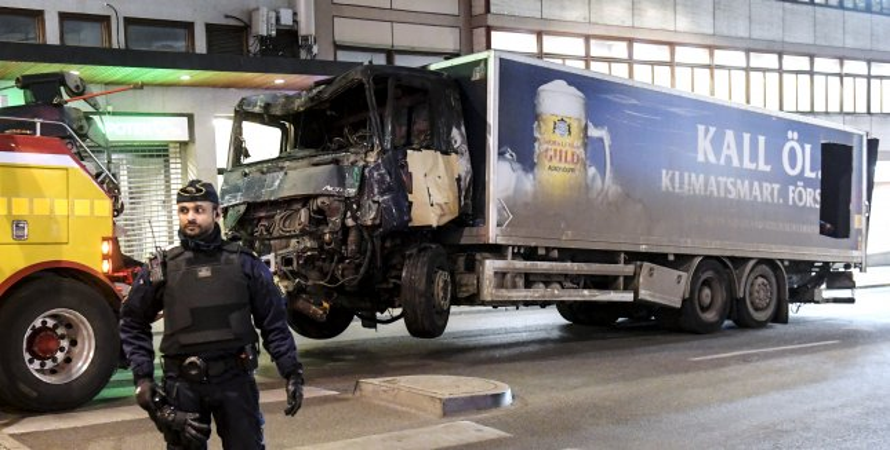 Sweden truck attack suspect 39-year-old Uzbekistan-born man