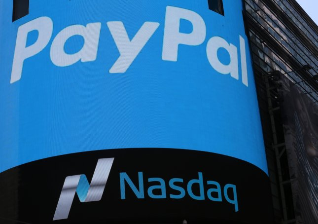 PayPal confirmed plans to purchase Swedish small-business payment platform iZettle for $2.2 billion in order to compete with similar services such as Square. Photo by Andrew Gombert/EPA