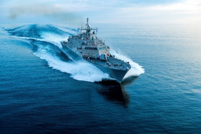 The future USS Wichita, shown here, will be commissioned into service this weekend. File Photo courtesy Lockheed Martin