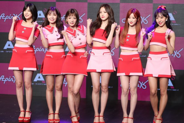 Apink announced plans Thursday for its first release since Pink Up. File Photo by Yonhap News Agency/EPA