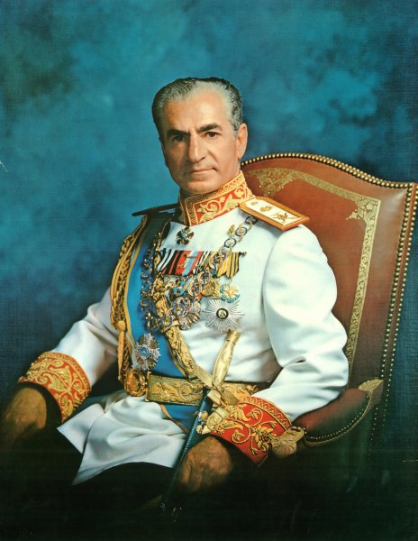 Mohammad Reza Pahlavi, the shah of Iran, pictured here in 1973, died July 27, 1980. UPI File Photo