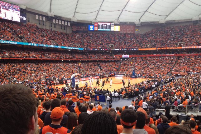 Former Syracuse coach Frank Maloney coached the Orange in the first game ever played at the Carrier Dome in 1980, drawing a stadium-record 50,564 fans. Photo courtesy of Wikimedia Commons