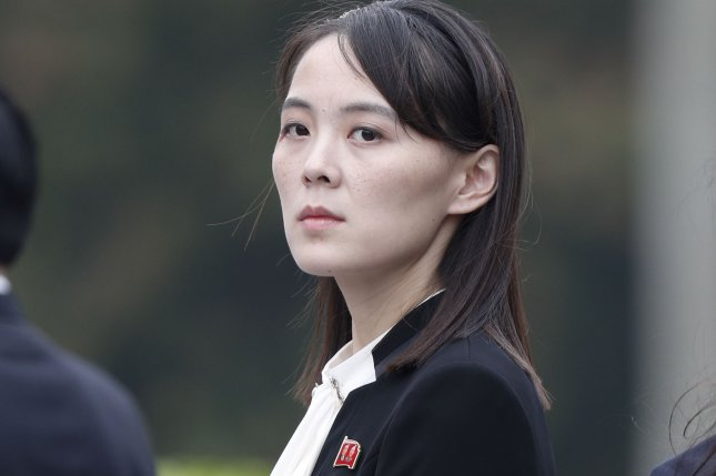 Kim Yo Jong, sister of North Korean leader Kim Jong Un, issued multiple threats of military actions against the South in June, a move that may have delayed food aid to the North for weeks, according to South Korean press reports. File Pool Photo by Jorge Silva/EPA-EFE