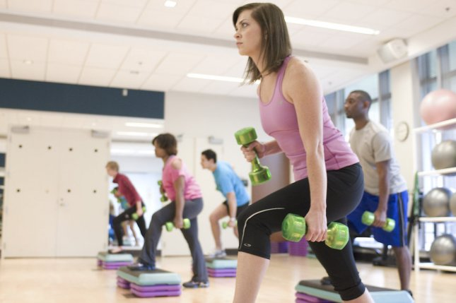 The risk of death from any cause was 40 percent lower among those who did both sufficient muscle-strengthening and aerobic activities, a new study found. Photo courtesy of the Centers for Disease Control and Prevention