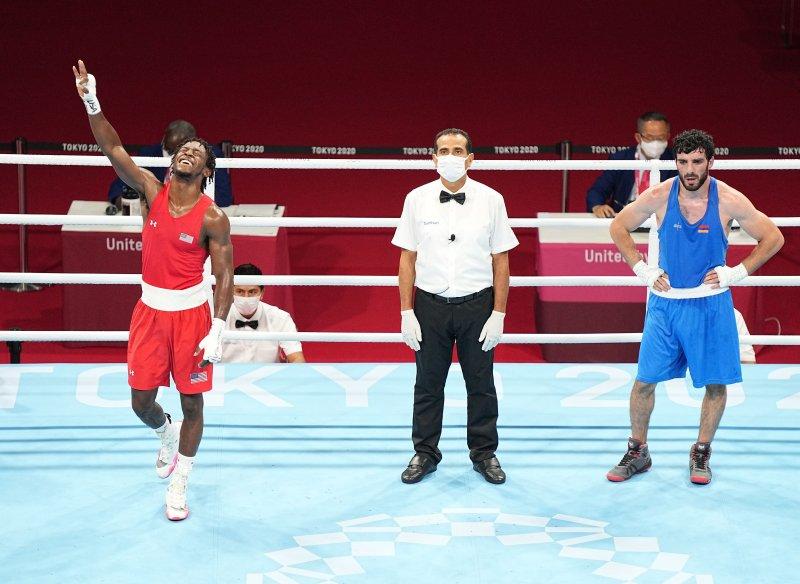U.S. boxer Keyshawn Davis beats Armenian Hovhannes Bachkov to make final