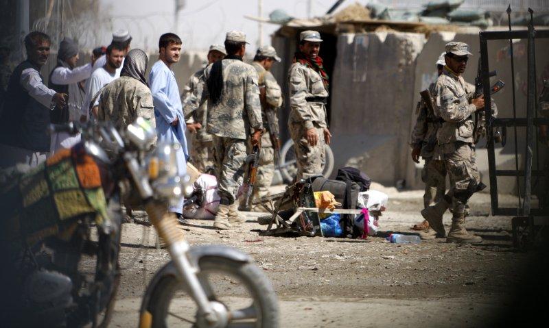 Afghan Police (Matiullah/UPI next)
