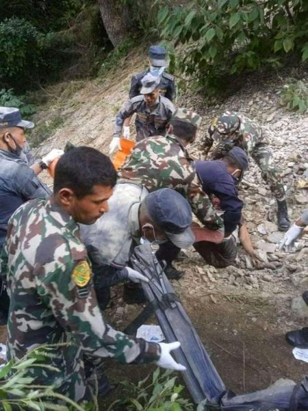 Nepal bus crash kills at least two dozen people