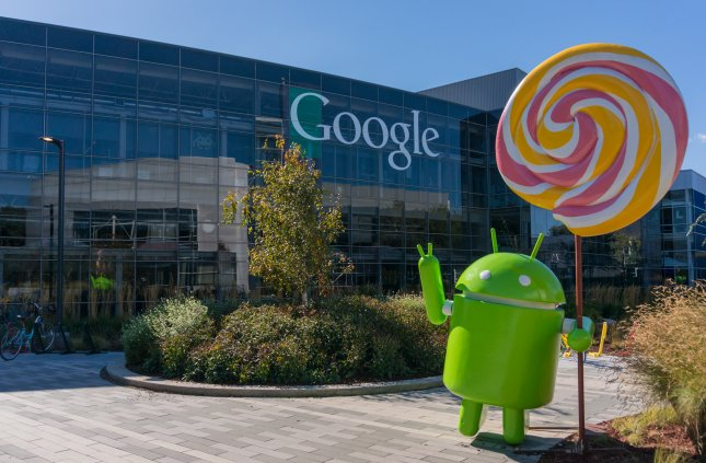 A federal appeals court ruled Google violated copyright law through its unauthorized use of Oracle's Java application programming interface while developing its Android mobile platform. File photo by Asif Islam/Shutterstock